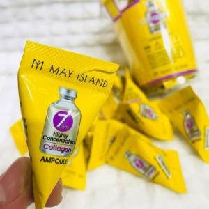 Сыворотка с коллагеном для упругости кожи May Island 7 Days Highly Concentrated Collagen 1/12 шт
