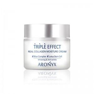 Увлажняющий крем с морским коллагеном Medi Flower Aronyx Triple Effect Moisture Cream 50мл