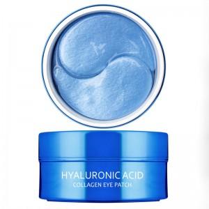 Увлажняющие гидрогелевые патчи для глаз MEDI FLOWER Aronyx Hyaluronic Acid Collagen Eye Patch 30 пар