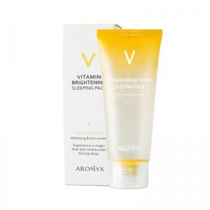 Ночная маска с витаминами MEDI FLOWER Aronyx Vitamin Brightening Sleeping Pack 100 мл
