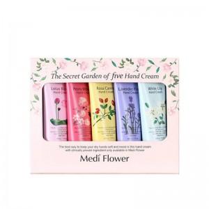 Подарочный набор кремов для рук MediFlower The Secret Garden Of Five Hand Cream Set