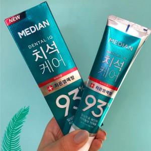 Зубная паста от воспаления десен MEDIAN Toothpaste Dental IQ 93% Prevent Gingivitis - 120 мл