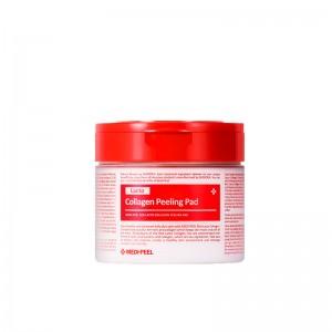 Пилинг-пэды с коллагеном и бифидобактериями MEDI-PEEL Red Lacto Collagen Peeling Pad 70 шт