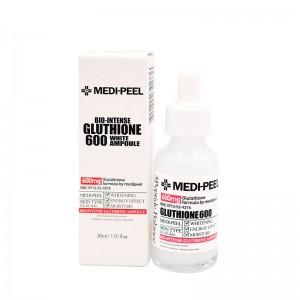 Осветляющая ампульная сыворотка с глутатионом MEDI-PEEL Bio-Intense Gluthione 600 White Ampoule 30 мл