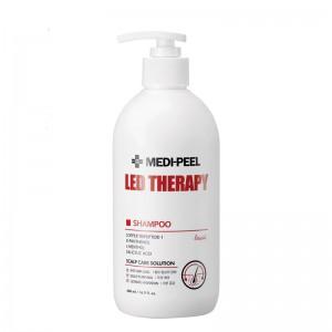 Укрепляющий шампунь с пептидами MEDI-PEEL Led Therapy Shampoo 500 мл