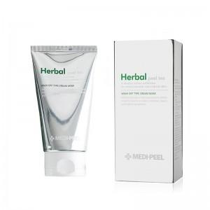 Очищающая пилинг-маска с эффектом детокса MEDI-PEEL Herbal Peel Tox Wash Off Type Cream Mask 120 гр