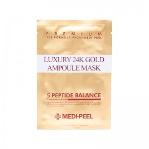 Тканевая маска с пептидами и золотом MEDI-PEEL Luxury 24K Gold Ampoule Mask 25 мл