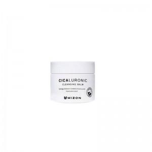 Миниатюра щербета для снятия макияжа MIZON Cicaluronic Cleansing Balm 7гр