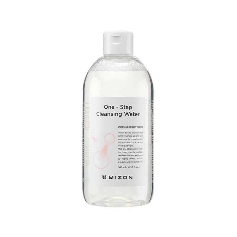Мицеллярная вода для снятия макияжа MIZON One Step Cleansing Water 500 мл