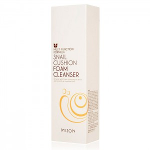 Пенка для лица с муцином улитки MIZON Snail Cushion Foam Cleanser - 120 мл
