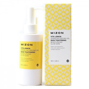 Очищающий пилинг-гель с лимоном MIZON Vita Lemon Sparkling Peeling Gel - 145 мл