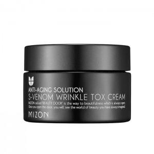 Лифтинг крем со змеиным пептидом MIZON S-Venom Wrinkle Tox Cream - 50 мл