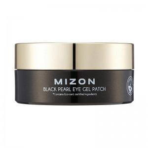 Патчи гидрогелевые с черным жемчугом MIZON Black Pearl Eye Gel Patch 60шт