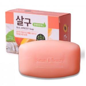 Абрикосовое мыло Mukunghwa Rich Apricot Soap - 100 гр