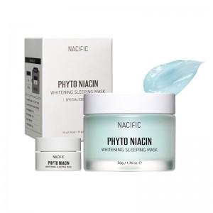 Осветляющая ночная маска NACIFIC Phyto Niacin Whitening Sleeping Mask 50 мл+10 мл