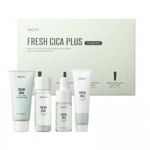 Набор миниатюр для чувствительной и проблемной кожи NACIFIC Fresh Cica Plus Clear Kit
