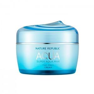 Гель-крем для комбинированной кожи NATURE REPUBLIC Super Aqua Max Fresh Watery Cream - 80 мл