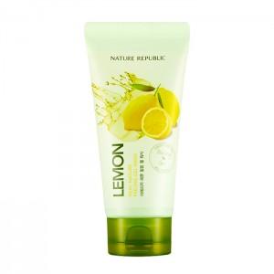 Пилинг-гель с экстрактом лимона NATURE REPUBLIC Real Nature Lemon Peeling Gel Wash - 120 мл
