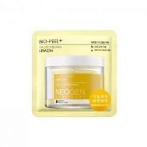 Очищающий пад с лимоном NEOGEN Dermalogy Bio Peel Gauze Peeling Lemon - 1 шт