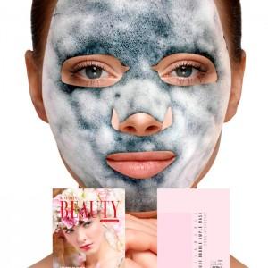 Очищающая кислородная тканевая маска NO:HJ Skin Maman Pure Bubble Essence Mask - 23 гр