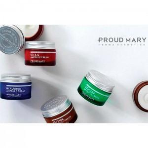 Крем с азуленом для чувствительной кожи PROUD MARY Azulene Ampoule Cream - 50 мл