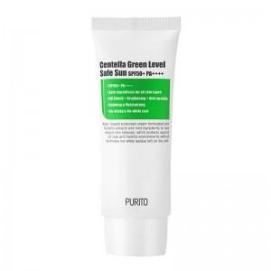 Солнцезащитный крем для чувствительной кожи PURITO Centella Green Sun Level Safe SPF50+ PA++++ 60 мл