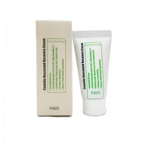 Миниатюра крема с центеллой PURITO Centella Unscented Recovery Cream 12 мл