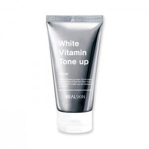 Осветляющий увлажняющий крем REAL SKIN White Vitamin Tone-Up Cream - 100гр