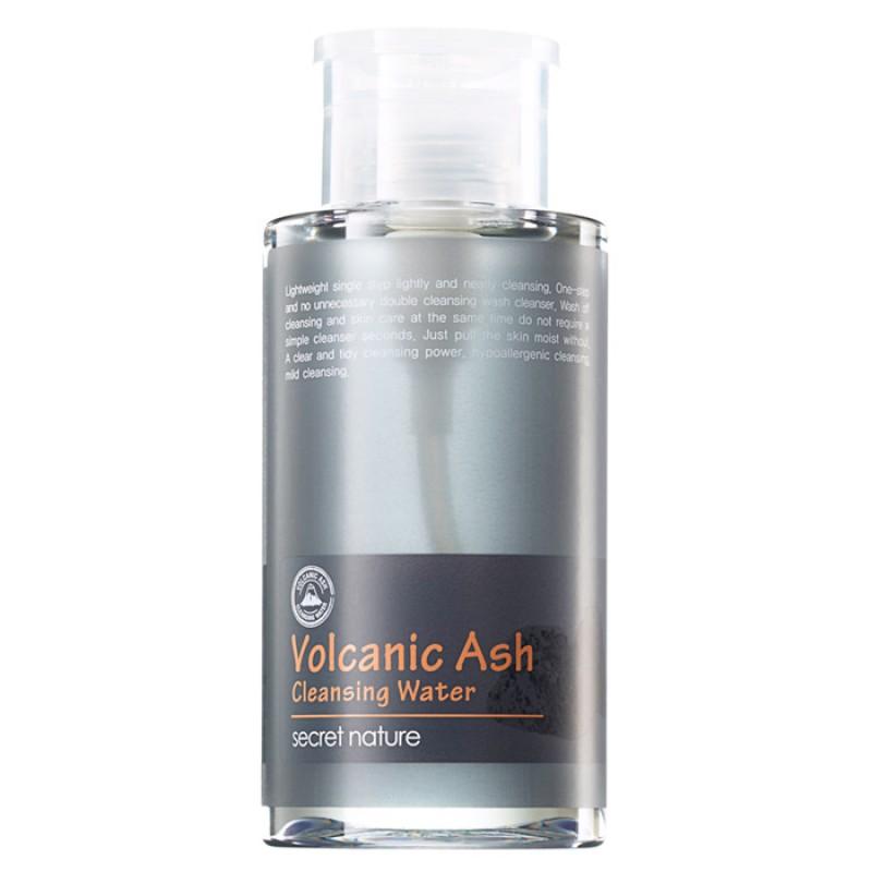 Вода для снятия макияжа SECRET NATURE Volcanic Ash Cleansing Water - 300 мл