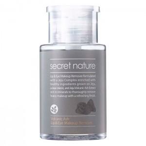 Жидкость для снятия макияжа с глаз и губ SECRET NATURE Volcanic Ash Lip and Eye Makeup Remover - 150 мл