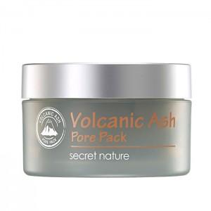Очищающая маска для лица с вулканическим пеплом SECRET NATURE Volcanic Ash Pore Pack - 100 мл