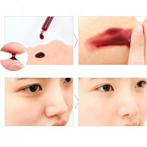 Миниатюра кислотной сыворотки с тингл-эффектом SO NATURAL Red Peel Tingle Serum Tube 20 мл