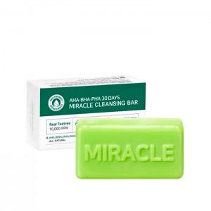 Мыло с кислотами для проблемной кожи SOME BY MI AHA-BHA-PHA 30 Days Miracle Cleansing Bar - 106 гр