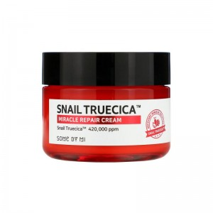 Восстанавливающий крем с муцином чёрной улитки Some By Mi Snail Truecica Miracle Repair Cream 60мл