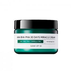 Восстанавливающий крем для проблемной кожи SOME BY MI AHA-BHA-PHA 30 Days Miracle Cream - 60 гр