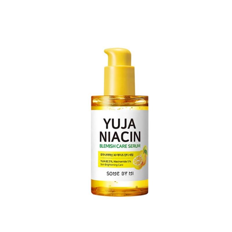 Осветляющая сыворотка с экстрактом юдзу SOME BY MI Yuja Niacin Blemish Care Serum 50 мл