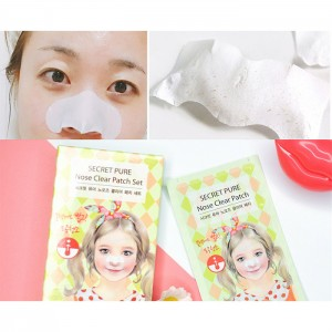 Патч для носа от черных точек THE SAEM Secret Pure Nose Clear Patch - 1 шт.