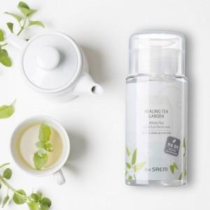 Средство для снятия макияжа с глаз и губ THE SAEM Healing Tea Garden White Tea Lip Eyes Remover 150 мл