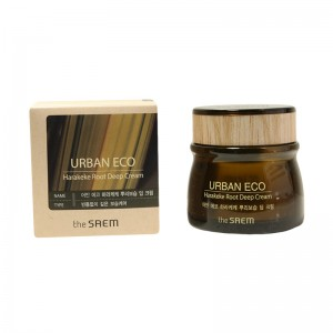 Глубокоувлажняющий крем с корнем новозеландского льна THE SAEM Urban Eco Harakeke Root Deep Cream 60 мл