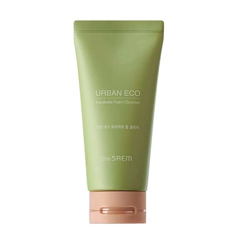 Пенка для умывания THE SAEM Urban Eco Harakeke Foam Cleanser - 150 мл