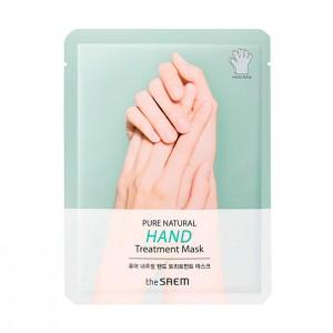 Маска-перчатки для рук THE SAEM Pure Natural Hand Treatment Mask - 1 пара