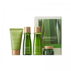 Набор для лица THE SAEM Urban Eco Harakeke Travel 4 Kit
