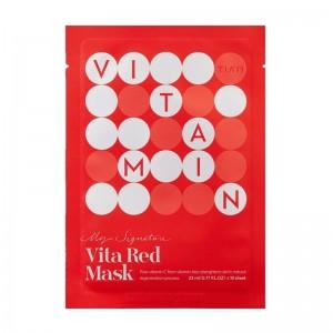 Витаминная тканевая маска TIAM My Signature Vita Red Mask 23мл