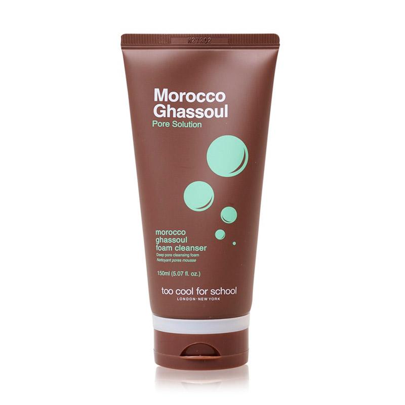 Пенка для умывания с глиной TOO COOL FOR SCHOOL Morocco Ghassoul Foam Cleanser 150 мл