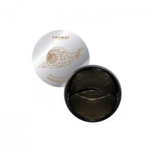 Питательные гидрогелевые патчи с муцином улитки TRIMAY Black Snail Gold Nutrition Eye Patch - 90 шт
