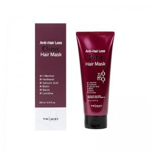 Пептидная маска против выпадения волос TRIMAY Anti Hair Loss Clinic Hair Mask 200мл
