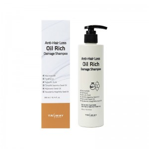 Питательный шампунь для поврежденных волос TRIMAY Anti-Hair Loss Oil Rich Damage Shampoo 300мл