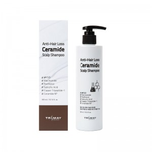 Шампунь с керамидами против выпадения волос TRIMAY Anti Hair Loss Ceramide Scalp Shampoo 300мл