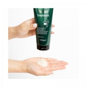 Слабокислотный восстанавливающий бальзам-маска с пептидами TRIMAY Silky Hair Repair Treatment 200мл