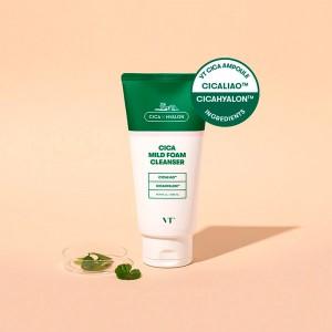 Пенка для чувствительной кожи с центеллой VT Cosmetics Cica Mild Foam Cleanser 300 мл
